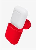 Used Apple Airpods Red Case and Strap in Dubai, UAE