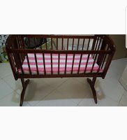 Used Juniors Cradle with ikea mattress in Dubai, UAE