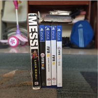 FIFA 10-17 PS4 collection with book