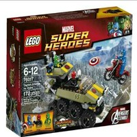 Used Lego Super Heroes Avengers- Captain America vs Hydra 76017 in Dubai, UAE