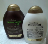 Used Ogx macadamia shampoo coconut milk con in Dubai, UAE