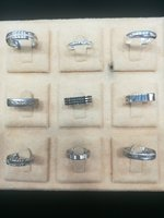 Used Silver wedding Ring Collection in Dubai, UAE