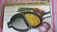 Used Folding omelette pan 1 piece in Dubai, UAE