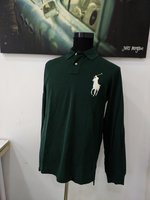 Used Green polo Ralph shirt L NEW authentic in Dubai, UAE