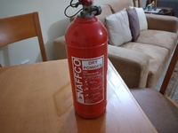 Used Unused 2kg Dry Powder Fire Extinguisher in Dubai, UAE