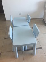 Used Ikea mammut tables and chairs in Dubai, UAE