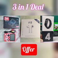 Used 3 in 1 Deal Game, Airpods & Smartband in Dubai, UAE