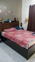 Used Queen Bed (Without Matress) in Dubai, UAE