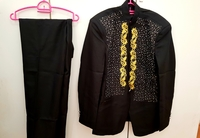 Blazer and black pants XXL black