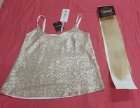 Used Blouse and hair extension in Dubai, UAE
