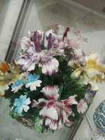 Used Porcelain flower centerpiece capodimonte in Dubai, UAE