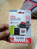 Used SanDisk 128Gb Memory Card with Adafter in Dubai, UAE