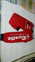 Active Pants Red