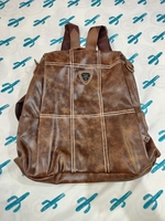 Women's Anti-theft Leather Backpack