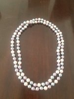 Used Long mother of pearl necklace in Dubai, UAE