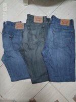 Used Levis Mens pants and short in Dubai, UAE