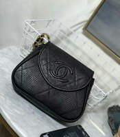Used New Chanel Black Shoulder Bag.😍 in Dubai, UAE