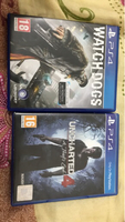 Uncharted 4 & watch dogs Ps4