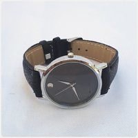 Brand new black simple watch for lady