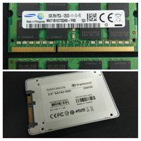 Used 256GB SSD and 2 x 8GB DDR3 RAM in Dubai, UAE