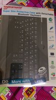 Used promate bluetooth keyboard w/ ipad case in Dubai, UAE