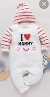 Used Baby Heart Mommy cat face jumpsuit in Dubai, UAE