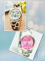 2pcs bundle Kitty Fashion Watch