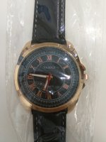 New elegant black Yazole men watch