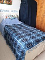 Used Gently used wooden bed with new mattress in Dubai, UAE