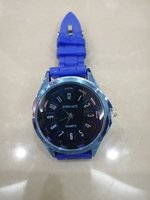 Used NEW BLUE QUARTZ WATCH  in Dubai, UAE