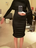 Used Brand New Elegant Black Dress Size Xs in Dubai, UAE