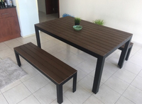 Used Picnic table set (with two benches) in Dubai, UAE