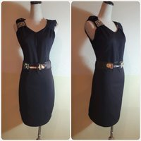 Used Dress with belt fabulous in Dubai, UAE