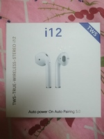 Used i12 wireless earphone new item in Dubai, UAE