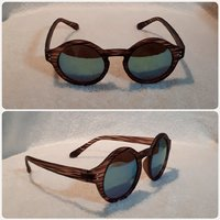 Wooden brown sungglass fashion for Her