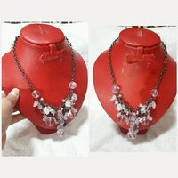 Used Fabulous CRYSTAL NECKLACE for lady. in Dubai, UAE