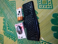 Keyboard mouse and headset  bundle