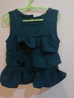 Ruffle tank top and bloomers