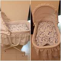 Used Baby bassinet crib in Dubai, UAE