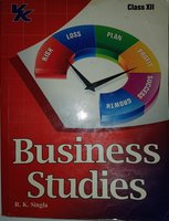 Used Business Studies - VK - Class 12 in Dubai, UAE