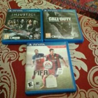 Used Ps Vita With 3 Games And 8 Gb Memory Card Whatsapp Number 0526212624 in Dubai, UAE