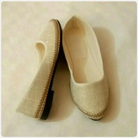 Used Golden color FLAT SHOES size-36 in Dubai, UAE