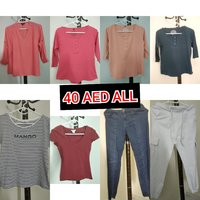 Used Tshirt s, jeans and joggers in Dubai, UAE
