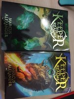 Singed keeper of the realms books