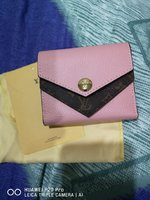 Used New Louis Vuitton small pink wallet in Dubai, UAE