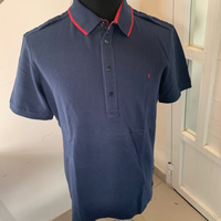 Valentino Polo shirt Navy blue (XL) New