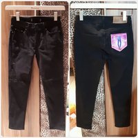 Black long pants skinny jeans size 26