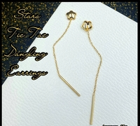 Used 18K Gold Tictac earing in Dubai, UAE