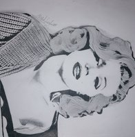 Used A4 marlin Monroe drawing in Dubai, UAE