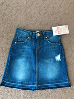 Denim skirt size 8 yers old